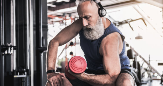 how to build muscles after 50