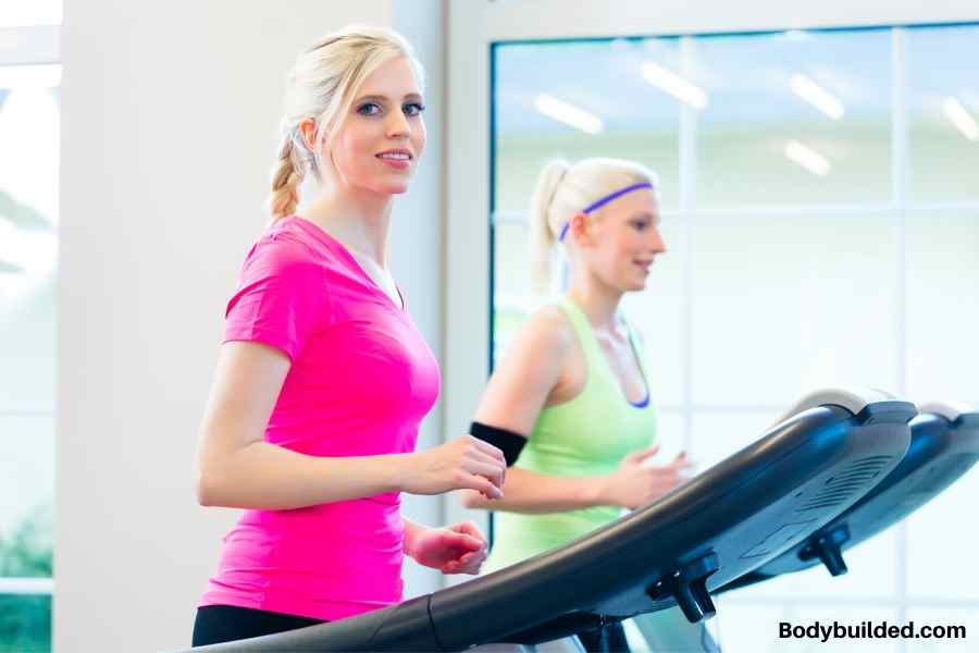 Get treadmill out in the open