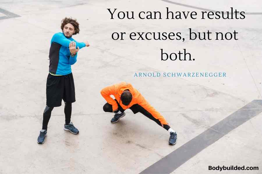 No excuse fitness motivation quotes