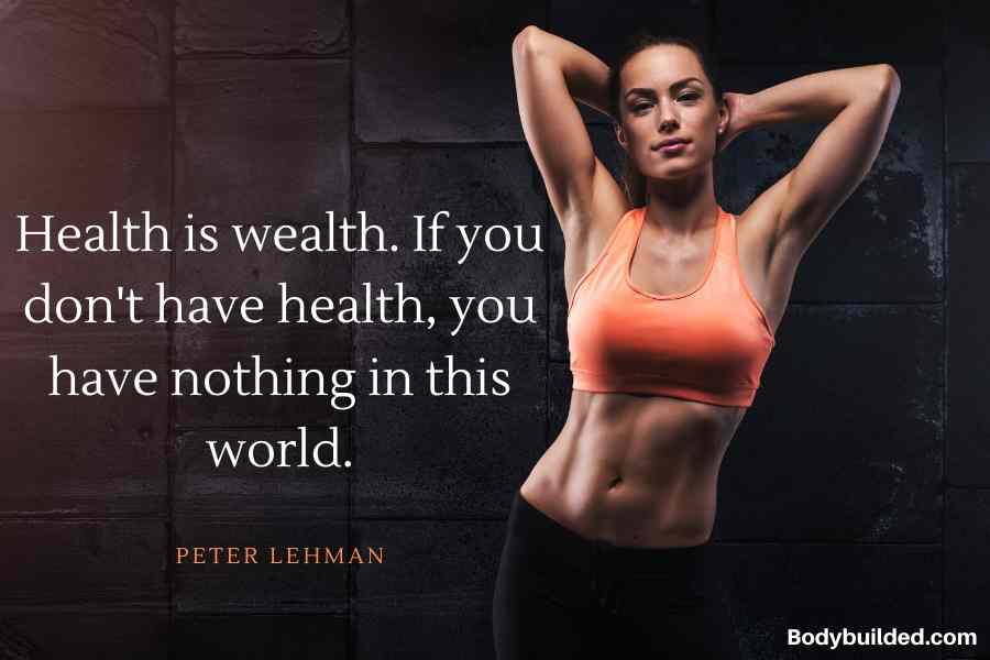 Health is wealth fitness motivation quotes