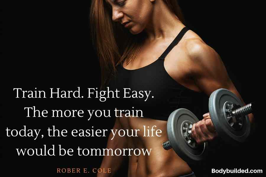 Train hard fitness motivation quotes