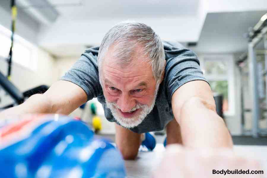 workout training tips for building muscles after 50