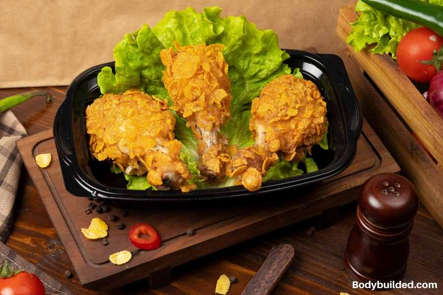 KFC grilled chicken low carb fast food snack idea