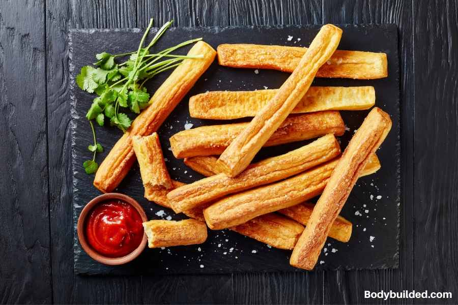 cheese straw low carb snack idea
