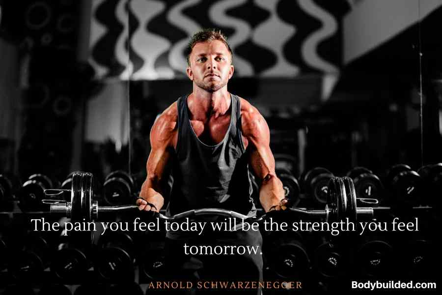 Arnold fitness motivation quotes