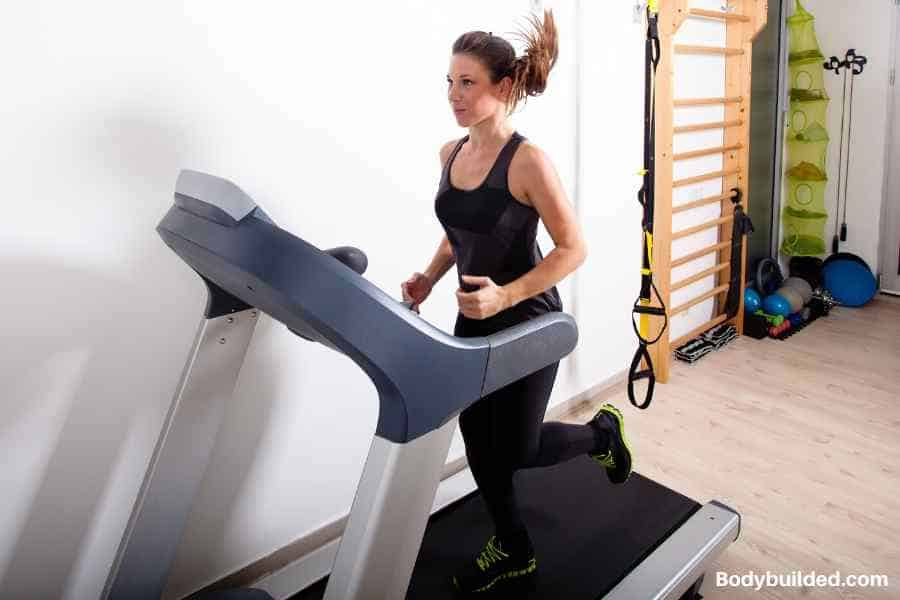 reading while running on treadmill can save time