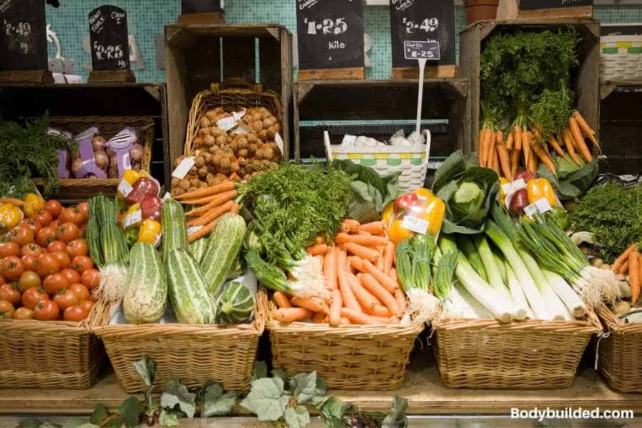 Buy cheaper directly from farms or CSA