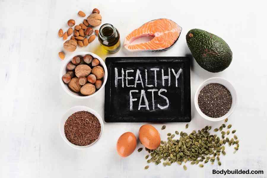 eat only healthy fats to get ripped fast