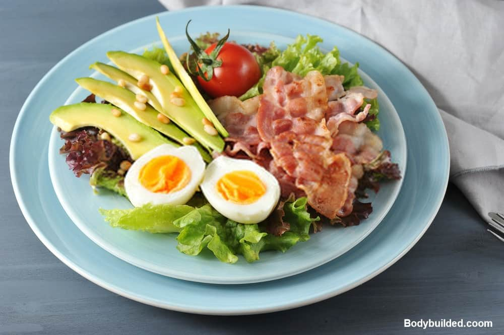 Low carb meals in under 10 minutes