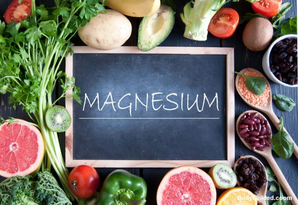 Magnesium helps in losing water weight and stole weight