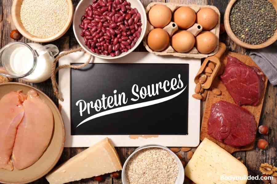 Eat a lot of Protein to preserve your muscle mass for getting skinny