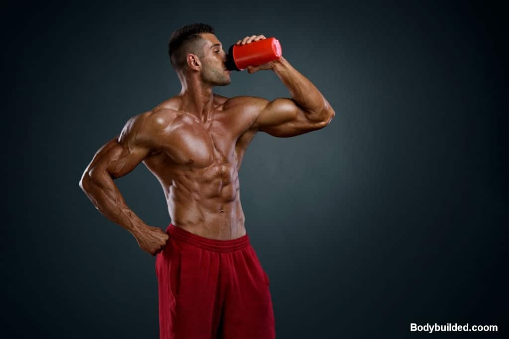 Use supplements for getting shredded fast