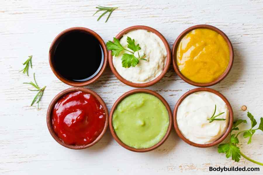 healthy sauces to get ripped fast
