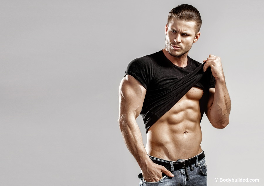other factors for getting ripped abs