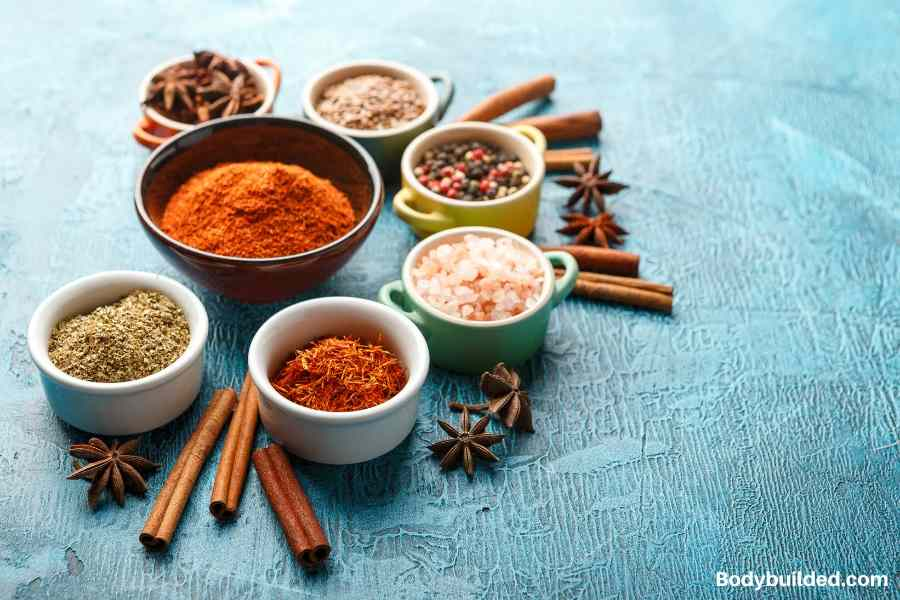 Healthy spices to get ripped
